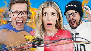 DON'T CUT THE WRONG WIRE or our HOUSE WILL EXPLODE for the First Time