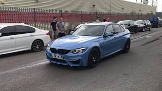 BMW MSPORTS, M2, M3, M4,M5,M140i, M135i, Fly By, Accelerations And Revs