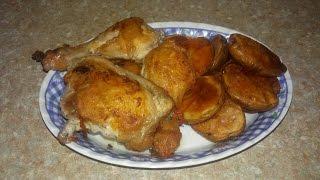 Мясо куриное на скорую руку.  Быстрый ужин. Мясные блюда.