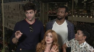 Shadowhunters Cast Interview at NYCC for SyfyWire