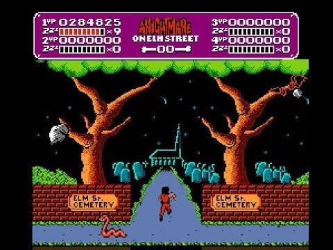 A Nightmare on Elm Street NES