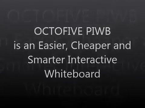 OCTOFIVE Portable Interactive Whiteboard