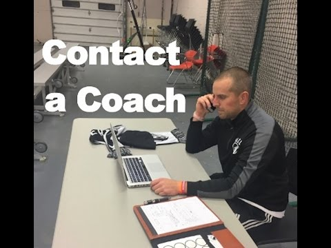 How To Contact a College Coach for Recruiting