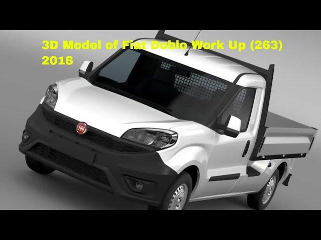 Fiat Doblo Work Up (263) 2016