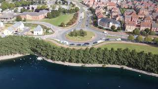 Ecolier Videos - a sweeping view of Lakeside Boulevard from the air
