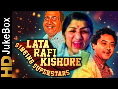 Download Lata Rafi Kishore - Singing Superstars | Classic Bollywood Evergreen Songs | Old Hindi Songs Mp4 HD Video and MP3
