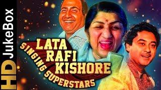 Lata Rafi Kishore - Singing Superstars | Classic Bollywood