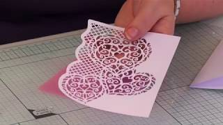 Crafter's Companion - Create a Card Cut on edge - demonstration
