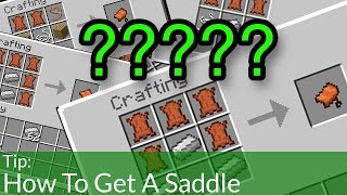How To Get a Saddle in Minecraft