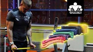 """Резиновая петля для тренировок (усилие 16-39 кг) от компании Компания """"TECHNOVA"""" - видео"""