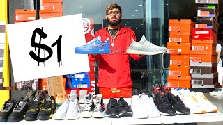 I Opened A $1 Sneaker Store