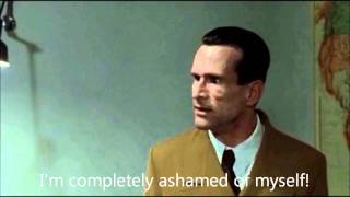 Goebbels rants about the Germans