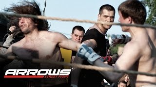 BOXER from the crowd vs HIPSTER !!! MMA!!
