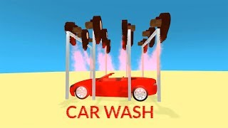 baby learn colors with Car Wash   Car Wash for Kids   Learning Colours Video Collection for Children