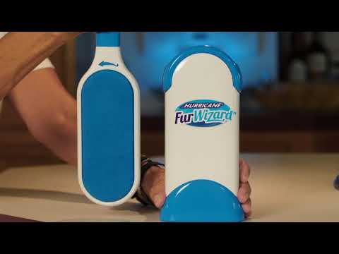 Hurricane Fur Wizard | Der Magnet für Haare, Fussel und Fasern jeder Art | MediaShop.TV