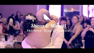 Sweet Romantic Jewish Wedding at the Sheraton in King of Prussia