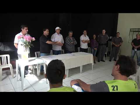 Vereadores na entrega do Alvará dos Mototaxistas de Juquitiba
