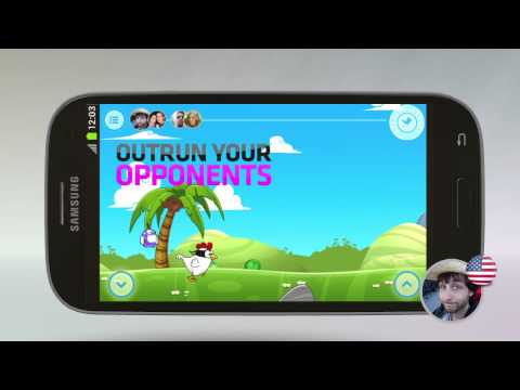 Video of Ninja Chicken Multiplayer Race