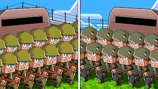 USA vs GERMANY! (Minecraft Base Wars)