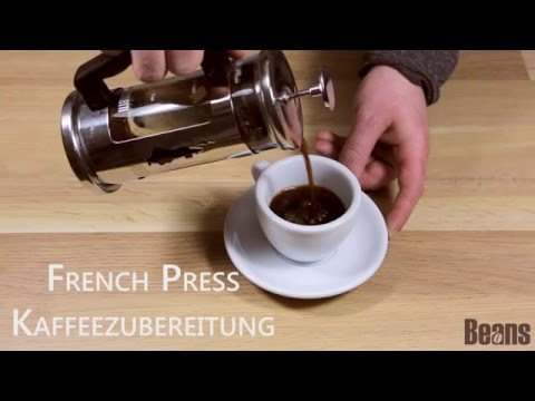Kaffeezubereitung mit der French Press