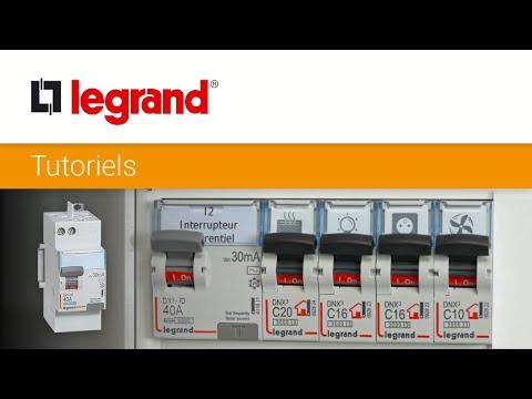 Installer un interrupteur différentiel Legrand dans son tableau électrique