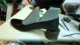 Вязаная обувь (процесс). Women