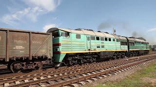 Тепловоз 2ТЭ10М, Diesel Locomotive 2ТЭ10М in Ukraine