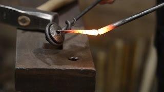 Blacksmithing - Forging a nail