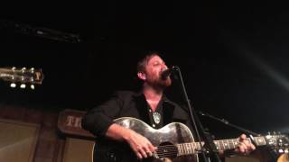 "Dan Auerbach performs ""Trouble Weighs A Ton"" at the historic Station Inn in Nashville on 5/31/2017"