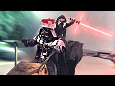 Darth Santa STRIKES BACK!