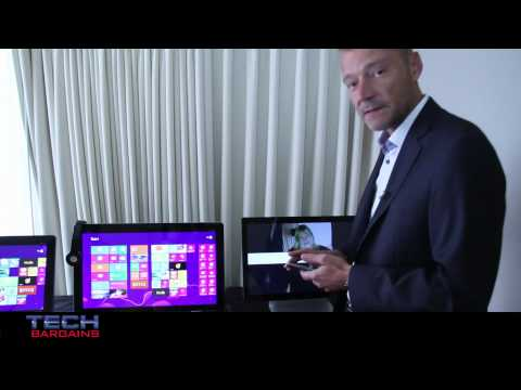 HP Spectre One, HP Envy 20 and 23 TouchSmart and HP Pavilion 20 All In One PC Preview (HD)