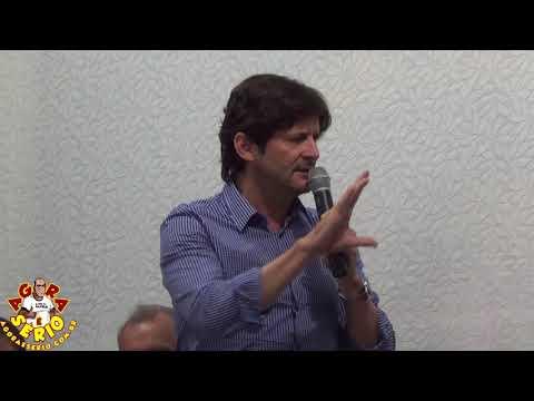 Prefeito Ayres Scorsatto e Deputado Estadual André do Prado  na Inauguração da Etec de Juquitiba