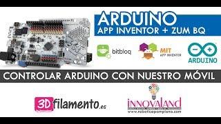 Controlar un LED desde nuestro móvil con una APP personalizada | APP Inventor | Bitbloq