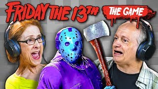 ELDERS PLAY FRIDAY THE 13TH: HORROR GAME (React: Gaming)