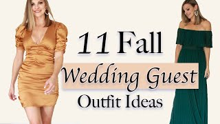 Fall Wedding Guest Dresses . II Wedding Guest Outfit Ideas II What To Wear To A Wedding