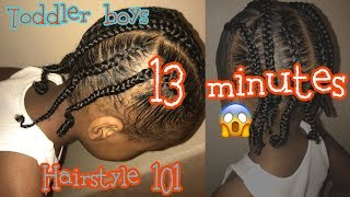 Hairstyle For Toddler Boys #2