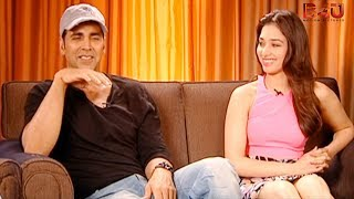 Exclusive Interview with Akshay Kumar and Tamannah | Entertainment | Latest Bollywood Movie