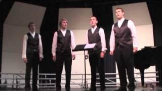"BCS Barbershop Quartet ""Steal Away"" 20091026 song 2"