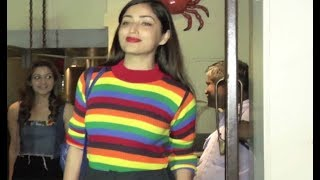Yami Gautam Having Dinner At Bastin Bandra