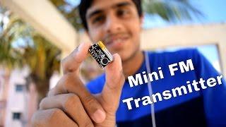 📻 Mini Spy FM Transmitter Bug - A Wireless Spy Listening Device
