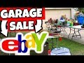 Garage Sale Flipping on Ebay | What to Look for at Garage Sales to Sell on Ebay