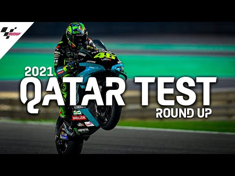 MotoGP 2021カタールテスト ハイライト動画