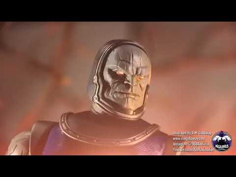 DGDX + Megalopolis Mezco Darkseid Stop Motion