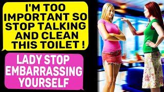 Karen Wants Me To Clean The Toilet at The Entertainment Complex r/IDontWorkHereLady