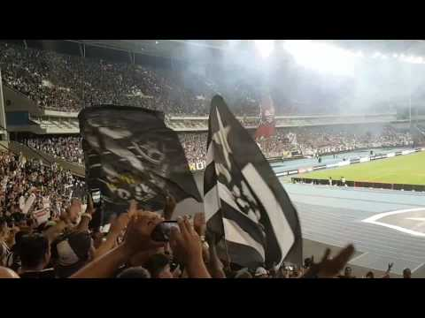 """Botafogo x Colo Colo (LIBERTADORES - 01/02/2017) - MOSAICO"" Barra: Loucos pelo Botafogo • Club: Botafogo"