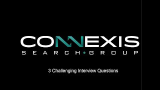 3 Challenging interview questions and how to answer them