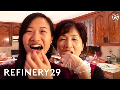 My Mom Teaches Me To Make Grandma's Gimbap Recipe   My Kitchen Sink   Refinery29