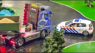 AWESOME RC Trucks In Motion On An Exhibition Display!