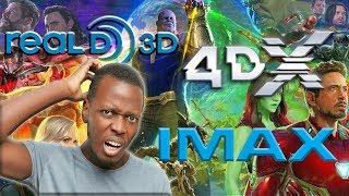 Avengers Infinity War : IMAX 3D or 4DX?