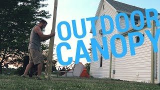 Building An Outdoor Canopy